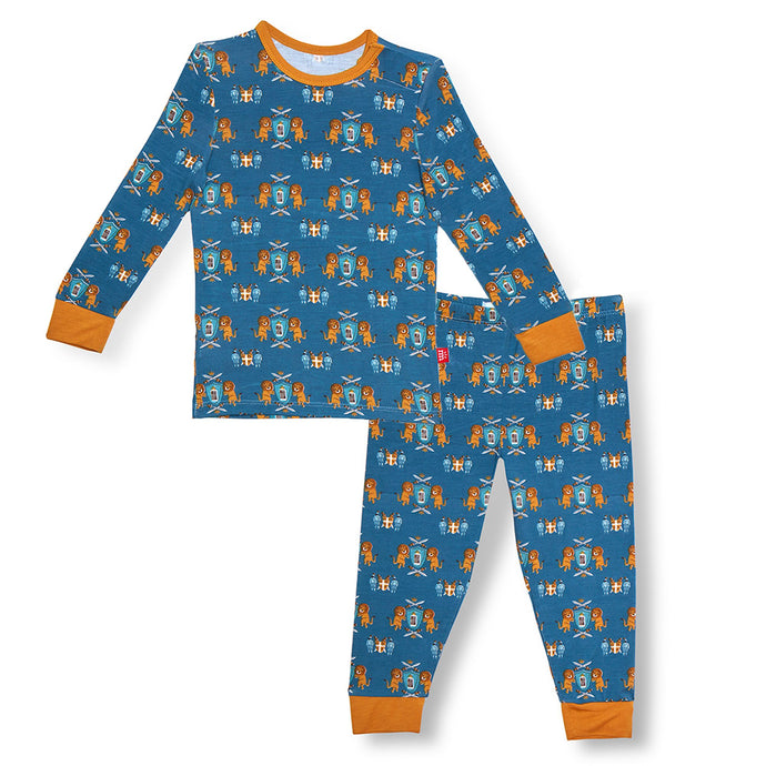 Knighty Night Modal Magnetic 2pc Toddler PJ set