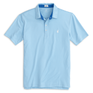 Merrins Gulf Blue Dad Polo