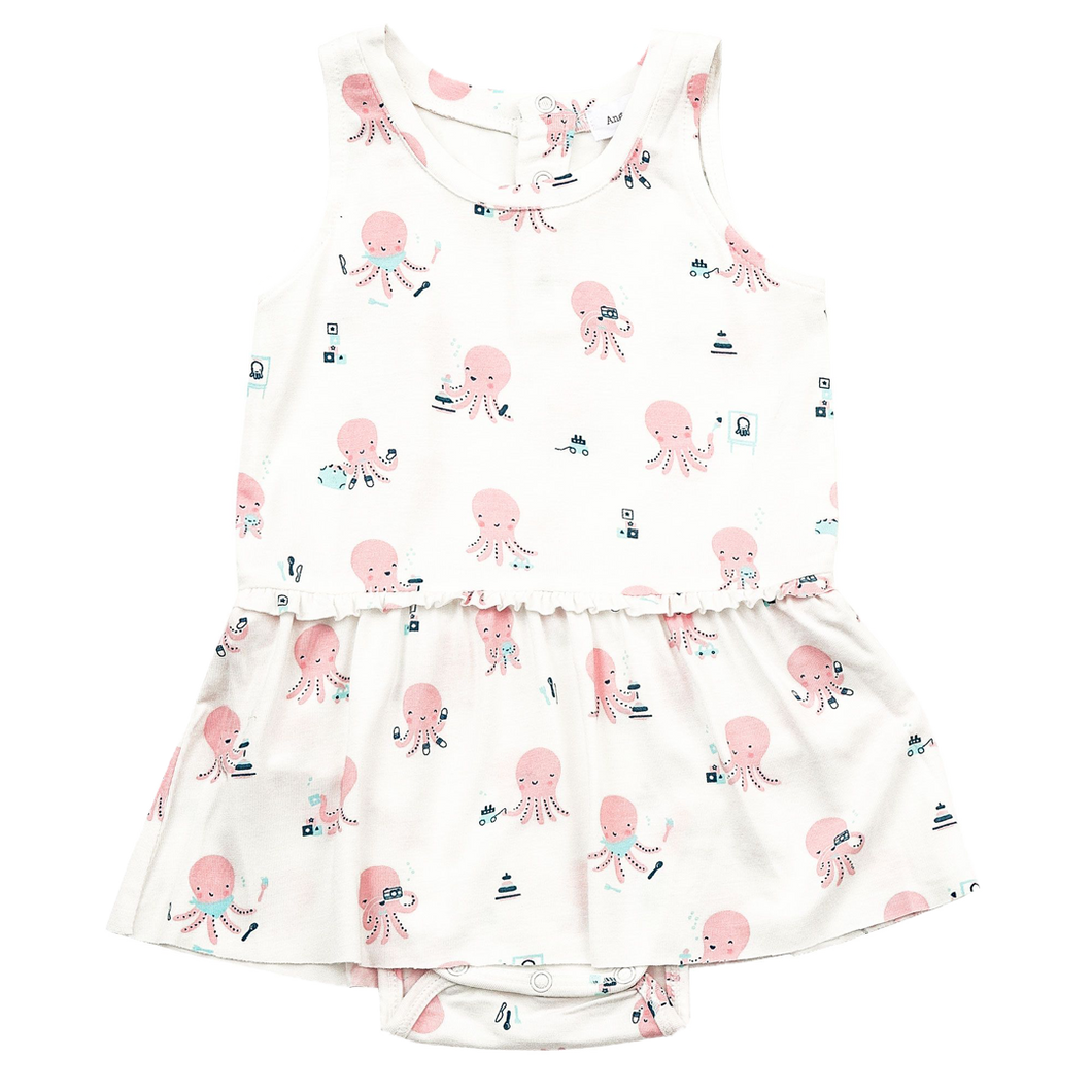 Octopus Playtime Bodysuit with Skirt
