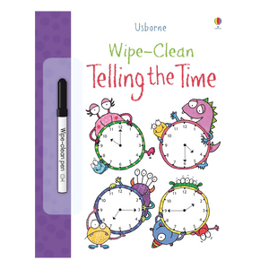 Telling Time Wipe Clean