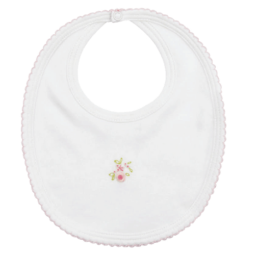 White Rose Bib