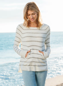 CCL Striped Raglan Pullover
