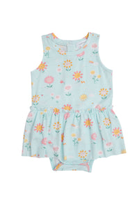 Hello Daisy Bodysuit with Skirt