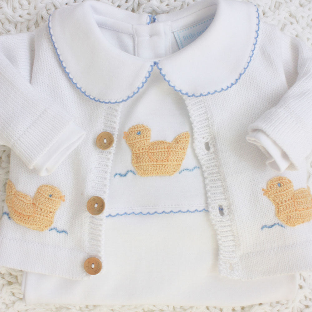 1z 2z 3z Duck Crochet Sweater Little English Richmond, Virginia