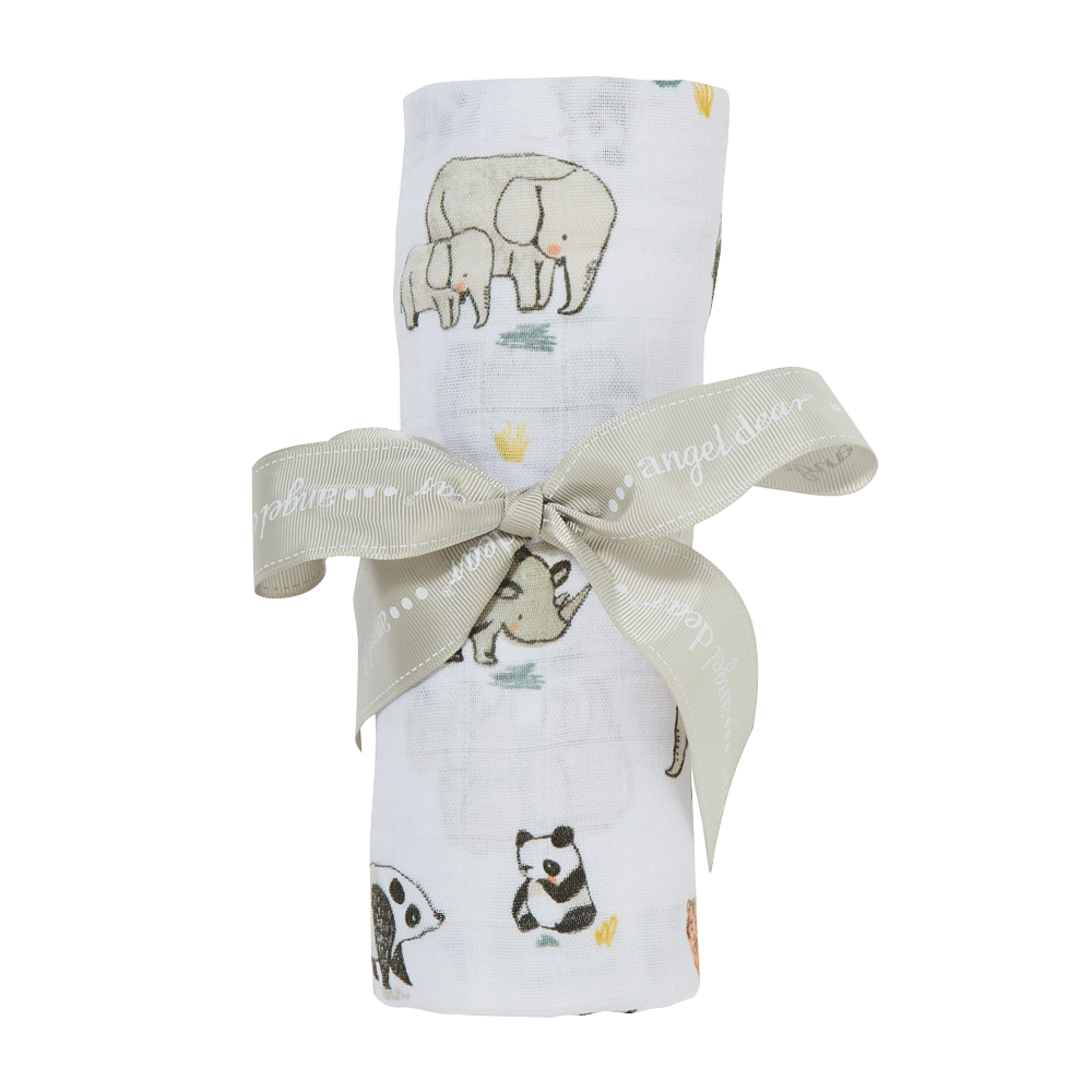 1z 2z 3z Baby Toddler boutique angel dear swaddle baby gift endangered species Richmond Virginia