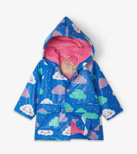 Cheerful Clouds Color Changing Raincoat