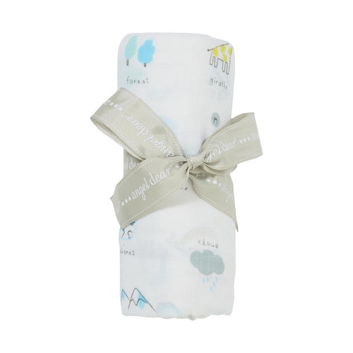 I Love My Planet Bamboo Swaddle