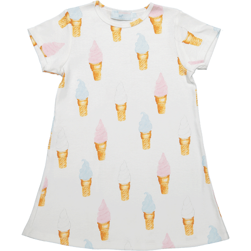Ice Creams A-Line Dress