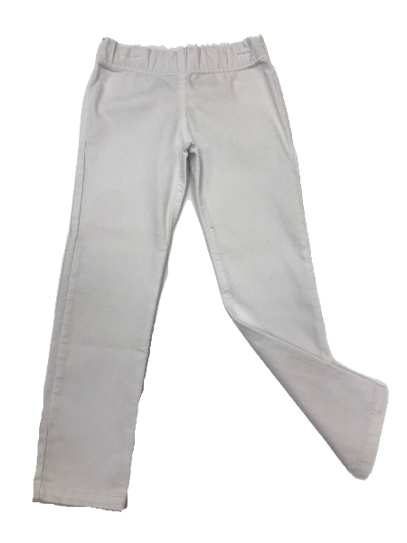 White Denim Slim Pant