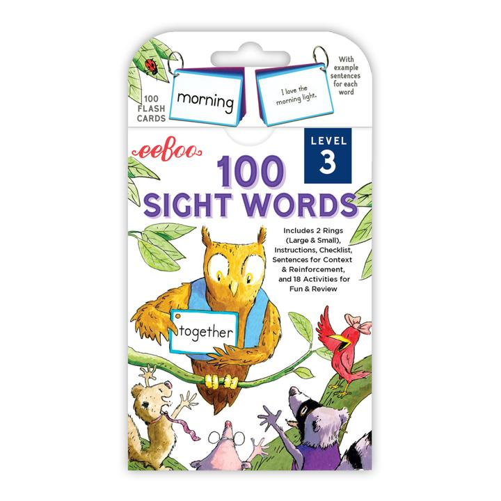100 Sight Words: Level 3