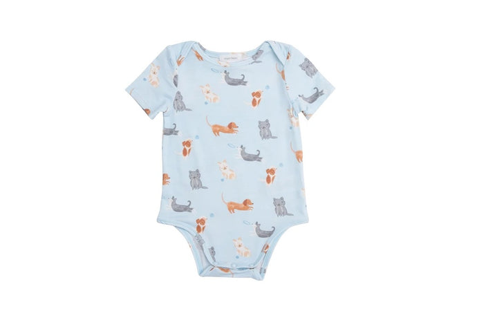 Puppy Play Blue Bodysuit