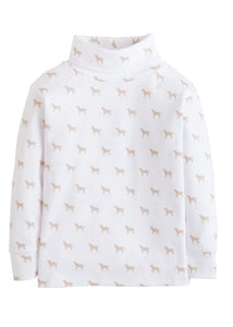 Lab Printed Turtleneck Girl