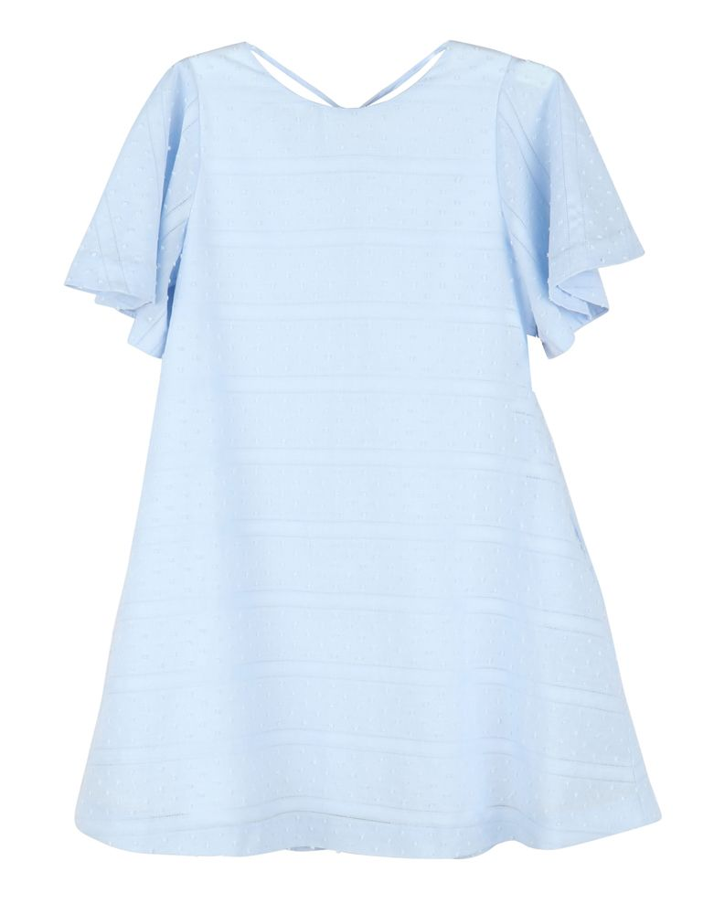 Blue Tilly Swing Dress