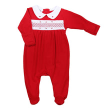 Julie and Jame's Classics Smocked Girl Footie