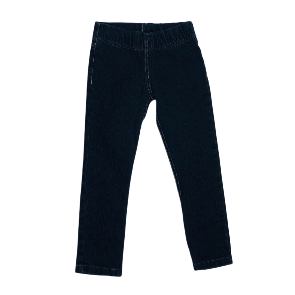 Girls Slim Fit Denim Pant
