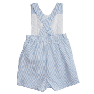 Sunsuit with Buttons and Pleats