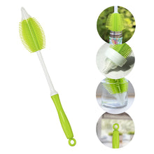 Green Silicone Bottle Brush