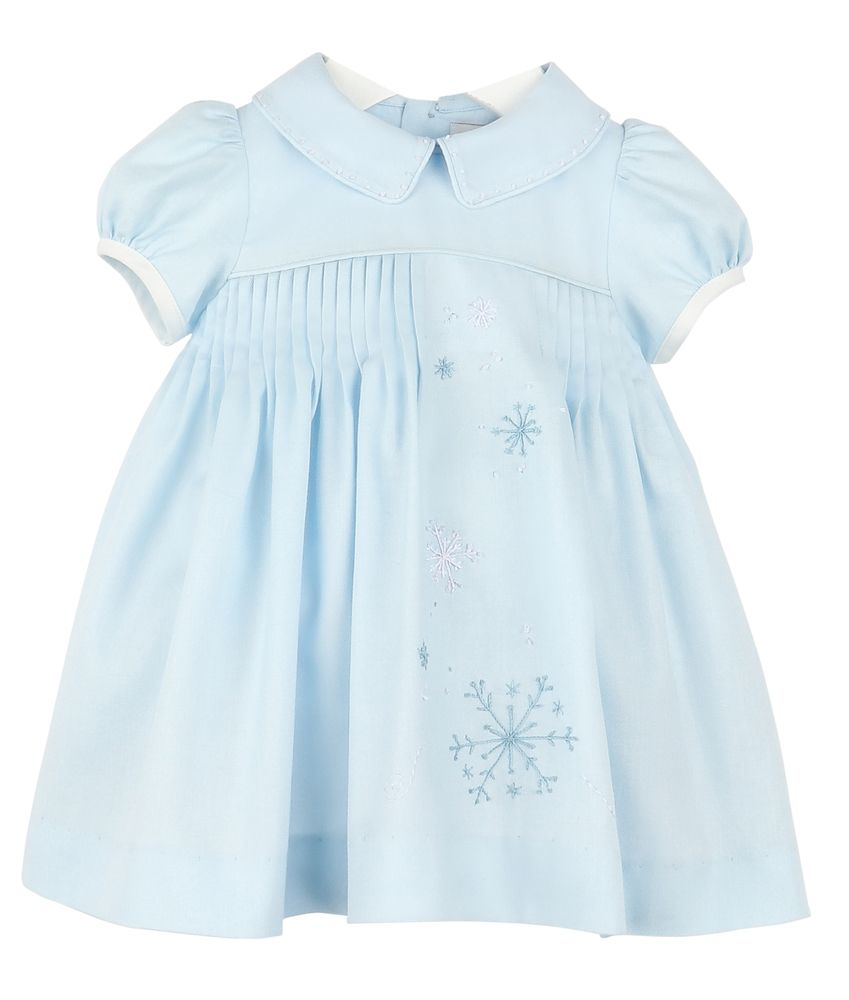 Snowy Sweet Pleat Dress