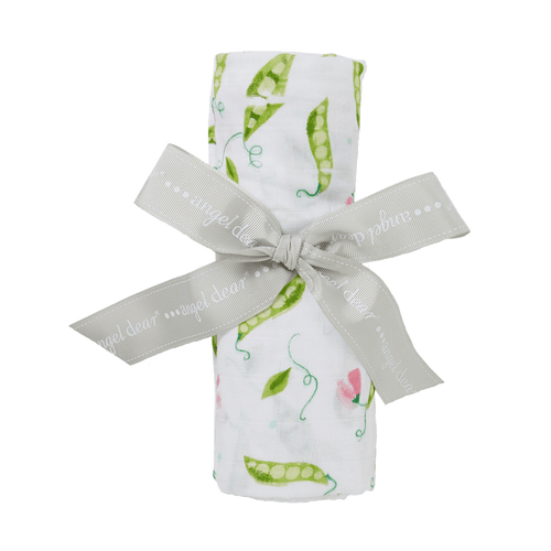 Sweet Pea Blossoms Swaddle