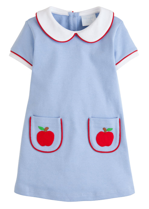Apple Applique Libby Dress