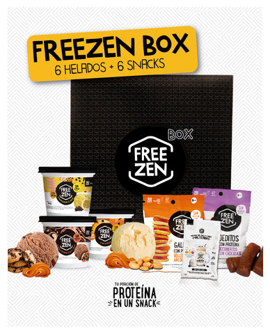 Freezen Box (6 Helados balance + 6 Snacks)