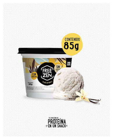 Helado fit mini sabor vainilla