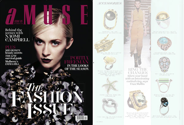 Amuse Magazine features Violet Darkling
