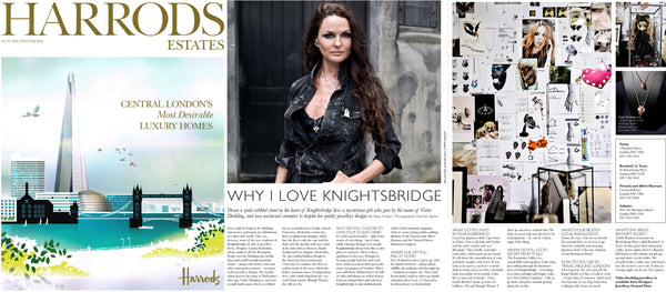 Harrods Estates feature Violet Darkling's Louisa Richwhite