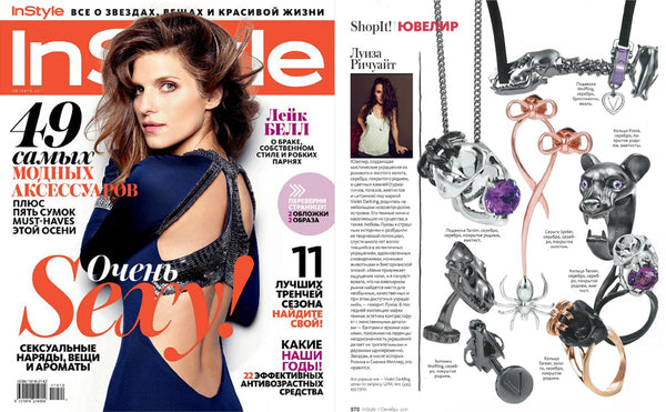 Instyle Russia features Violet Darkling