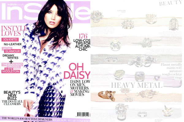 InStyle UK features Violet Darkling's Fossa Ring