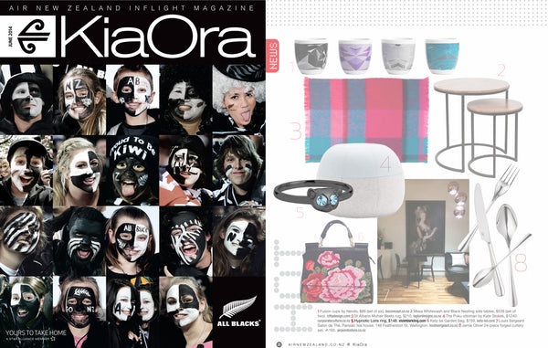 KiaOra features Violet Darkling's Loris ring