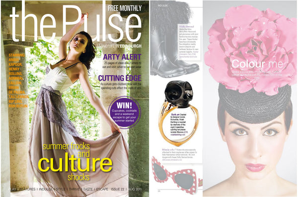 Violet Darkling's Tarsier ring in The Pulse