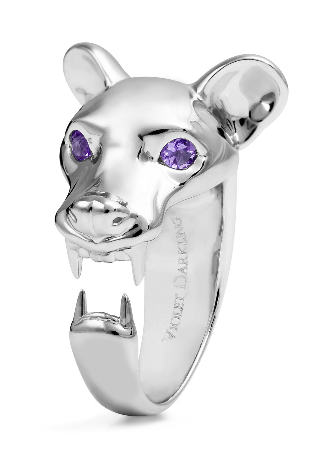 Silver Fossa Ring by Violet Darkling