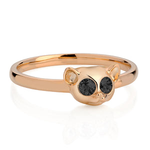 Hypnotic Loris Ring, Violet Darkling
