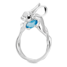 Silver Jerboa Ring by Violet Darkling