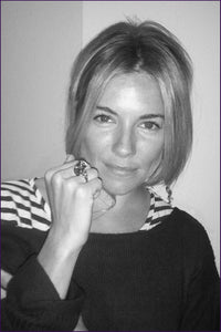 Sienna Miller in Violet Darklings Tarsier RIng