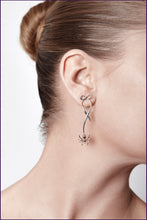 Spider Bow Earrings