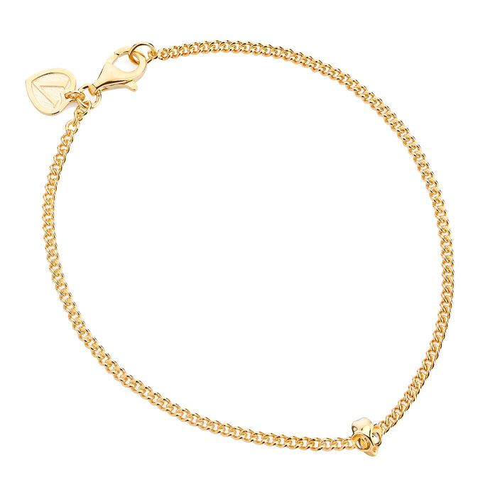 Yellow Gold Tarsier Bracelet