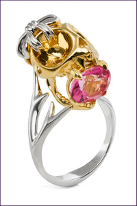 Tarsier Ring by Violet Darkling.