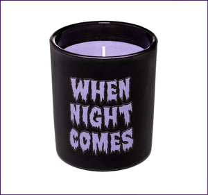 When Night Comes Candle, Violet Darkling