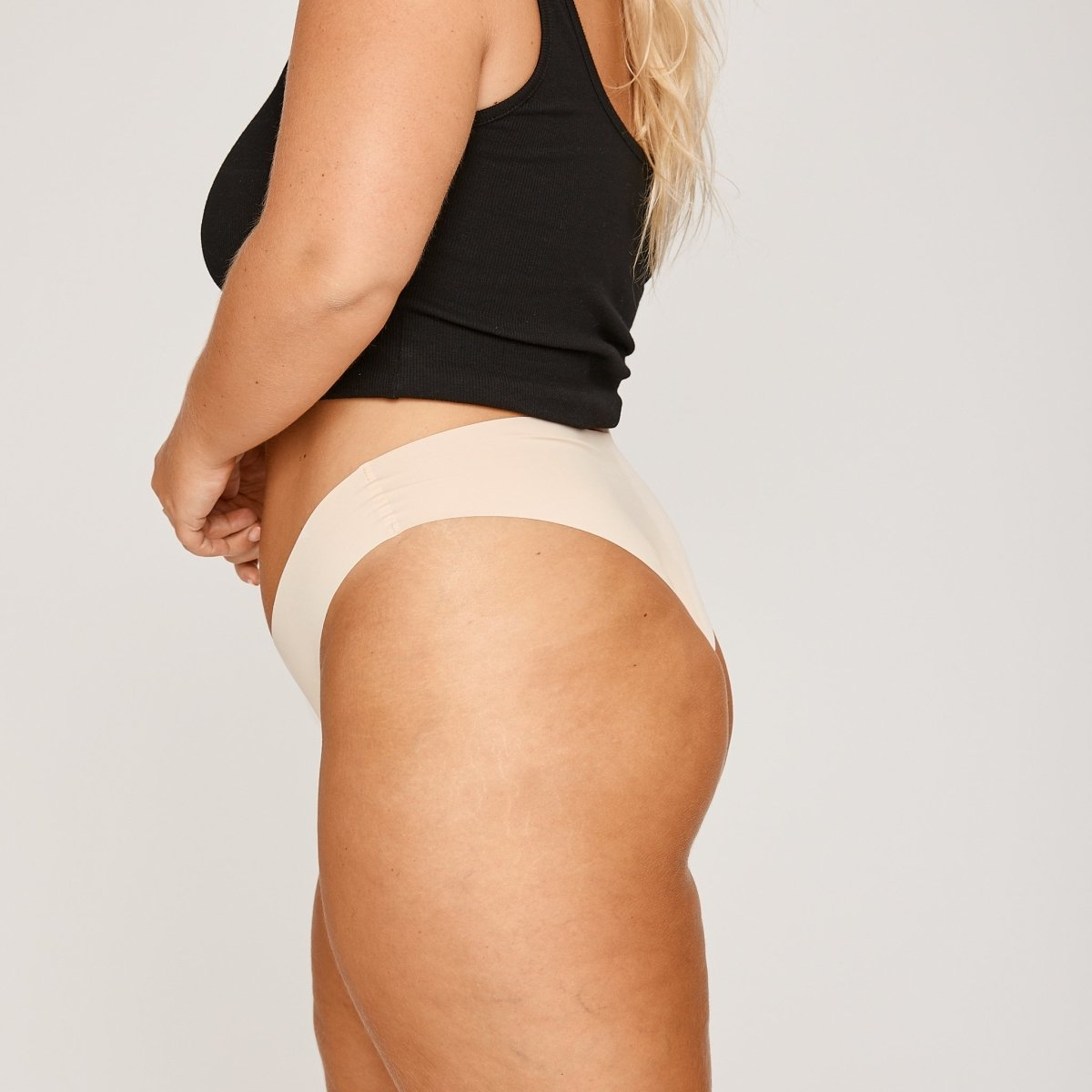 Original-Rise Cheeky - Buttermilk - Peach Underwear