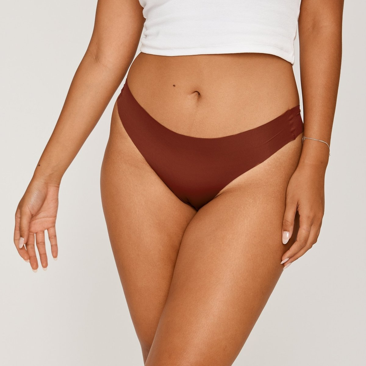 Original-Rise Thong - Cinnamon - Peach Underwear