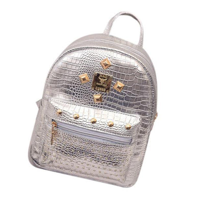 Studded Leather  Backpacks
