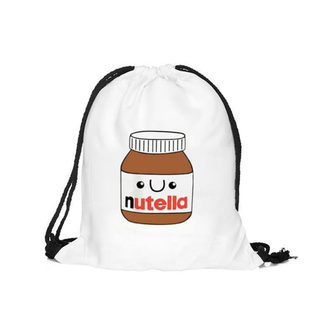 Nutella Drawstring backpack