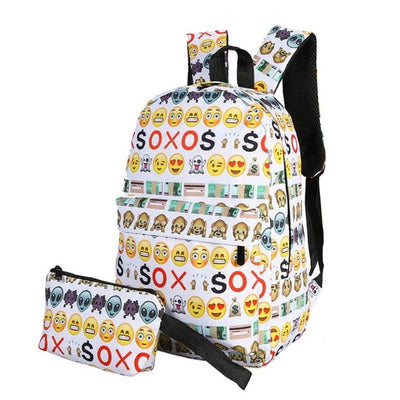 Emoji School bag backpack
