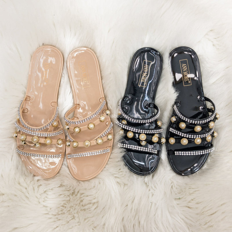 Arizona Bling Jelly Sandals-Shoes-Moda Fina Boutique