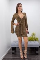 Long Sleeve Mini Dress-Mini Dress-Moda Fina Boutique