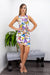 Open Back Butterfly Mini Dress-Mini Dress-Moda Fina Boutique