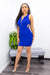 Open Back Front Zipper Mini Dress-Mini Dress-Moda Fina Boutique
