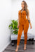Zipper Sport Skinny Jumpsuit-Jumpsuit-Moda Fina Boutique